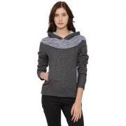 Campus Sutra Women's Gray Sweatshirt