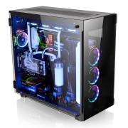 Kućište Thermaltake View 91 Tempered Glass RGB Edition, crna, E-ATX, 24mj (CA-1I9-00F1WN-00)