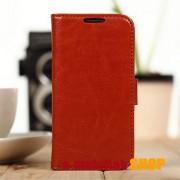 Flip tok, Samsung Galaxy S4 mini GT-I9190 / I9192 / I9195, Barna