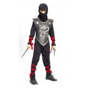 Vegaoo Ninja dragon - Ninjadräkt för barn 120 - 130 cm M (7 - 9 år)