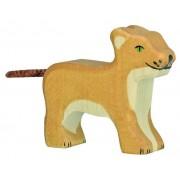 Fa játék állatok - oroszlán, kicsi, álló