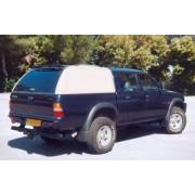 HARD TOP CARRYBOY MITSUBI L200 DOUBLE CAB 97/05 SANS VITRES LATERALES - acc...