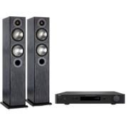 Pachete PROMO STEREO - Monitor Audio - Bronze 5 + NAD C 338 Black Oak