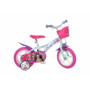 Bicicleta copii 12 Barbie Dino Bikes