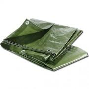 Maxpack 93838 Plachta zakrývací s oky 1,3x1,3m zelená 80g/m2