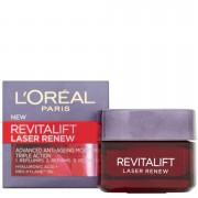 L'Oréal Paris Crema hidratante iluminadora antiedad L'Oreal Paris Dermo Expertise Revitalift Laser Renew - Triple Acción (50 ml)