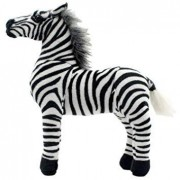 TAGLN Stuffed Animals Zebra Horse Toys Plush (16 Inch)