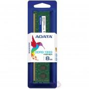 Memoria Ram DDR3 Adata 1333 MHz 8 GB PC3-10600 (AD3U1333W8G9-S) - Verde