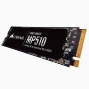SSD 240GB Corsair MP510 CSSD-F240GBMP510, M.2 PCI-e NVMe, M.2 2280, скорост на четене 3100MB/s, скорост на запис 1050MB/s