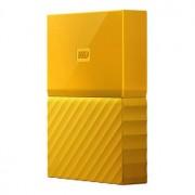 WD My Passport 4TB - USB 3.0 - Gul