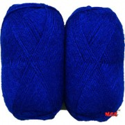 M.G Rose Royal Blue 400 gm hand knitting Soft Acrylic yarn wool thread for Art & craft Crochet and needle