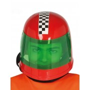 Vegaoo.es Casco piloto fórmula 1 rojo niño