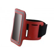 Universal Sports Armband for Phones - Apple Sports Arm Band (Red)