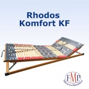 FMP Matratzenmanufaktur 7 Zonen Teller-Leisten Lattenrost Rhodos Komfort KF 100x190 cm
