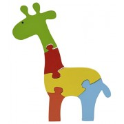 Skillofun Wooden Take Apart Puzzle Large - Giraffe, Multi Color