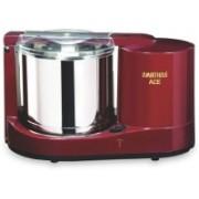 AMIRTHAA ACE 110V - 1.25 L Table Top Wet Grinder (Wine Red) Wet Grinder(Maroon)