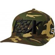 Fox Czar Flexfit Sombrero Verde Marrón S M