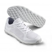 Mjuk arbetssko i sneakersmodell Vit (38)