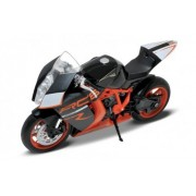 1:10 MOTORCYCLE KTM 1190 RC8 DIECAST MOTORCYCLES 62806R-W BY WELLY