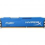 Memorie HyperX Fury 8GB DDR3 1600 MHz CL10 Radiator Albastru