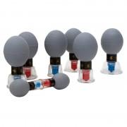 Jogo de Ventosas Magnéticas com Pêra (8 unidades)