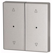 Capac Buton LED dublu - Argintiu ^/v CWIZ-02/23-LED EATON