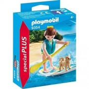 Playmobil Special Plus - Surfer si catel