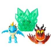 Így neveld a sárkányodat 3 Multi ajándékcsomag - Kék és piros sárkány