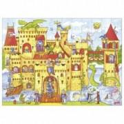 Joc puzzle - castelul cavalerului