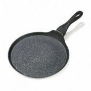 Tigaie din aluminiu forjat pentru clatite Black Sand 28 x 1.5 cm