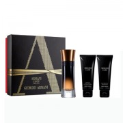 ARMANI Code pour homme Profumo 60 ml EDP SPRAY + after shave balm 75 ml + gel doccia 75 ml