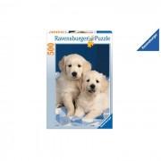Ravensburger puzzle cuccioli golden retriever 500 pezzi