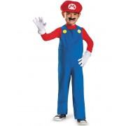 Disfarce de Mario para criança - 3 - 4 anos (94 - 109 cm)
