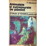 animalele si cutremurele de pamant