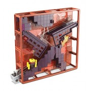 Hot Wheels Minecraft Track Blocks Nether Fortress Play Set