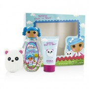 Lalaloopsy Mittens Fluff `N` Stuff Cute Coffret: Eau De Toilette Spray 100ml/3.4oz + Shower Gel 75ml/2.5oz + French Barrette 3pcs