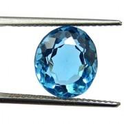 7.07 Ratti Best quality Blue Topaz stone Lab Certified