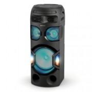 Аудио система Sony MHC-V71D, HDMI, USB, Bluetooth, NFC, CD, DVD, парти светлини, черна