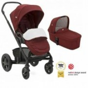Joie - Carucior multifunctional Chrome Deluxe Cranberry 2 in 1 - Limited Edition