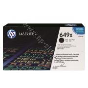 Тонер HP 649X за CP4525, Black (17K), p/n CE260X - Оригинален HP консуматив - тонер касета