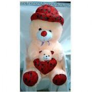 OH BABY 5 feet Cream teddy bear soft toy valentine love birthday gift SE-ST-141
