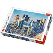 Puzzle Doha Qatar, 2000 piese