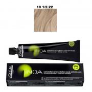 Vopsea permanenta fara amoniac L`Oreal Professionnel Inoa 10 1/2.22, 60ml