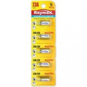 Raymax Batteries Set 5 Batterie Alcalina 23A 12V