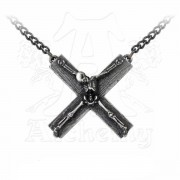 nyakörv Crucifacation - ALCHEMY GOTHIC - P682