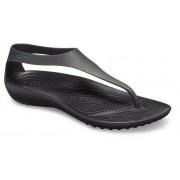Crocs Serena TeenSlippers Damen Black / Black 37