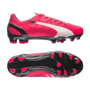 Puma EvoSpeed 4.3 FG JR - scarpa da calcio per terreni compatti - bambino - Light Red