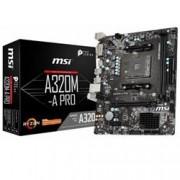 MB MSI A320M-A PRO AMD AM4 RYZEN M.ATX CORE BOOST