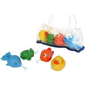 Waterworld Set Animalitos Amigos Waterworld 4 Uds 3 Años