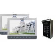 """Domovní bezsluchátkový videotelefon 7"""" 5Tech 94710 (x2) + 84213"""